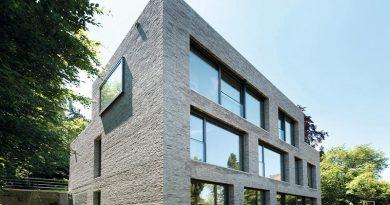 Architekten setzen beim Objekt- und Wohnungsbau verstärkt auf individuelle Fassadengestaltung mit Ziegeln. Foto: David Franck (Einreichung im Rahmen des Fritz-Höger-Preises 2014)