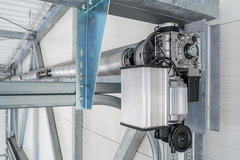 Zuverlässige und sichere Torautomatik des Herstellers GfA Elektromaten. Foto: Wiśniowski