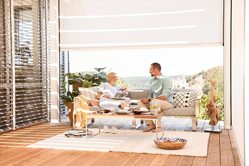 Trend Outdoor Living. . Foto: Warema