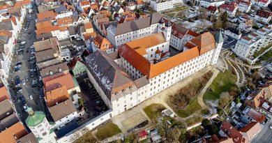 Das Schloss Günzburg ist das prägende Gebäude der Günzburger Altstadt. Foto: Ingo Jensen/Schwenk Putztechnik