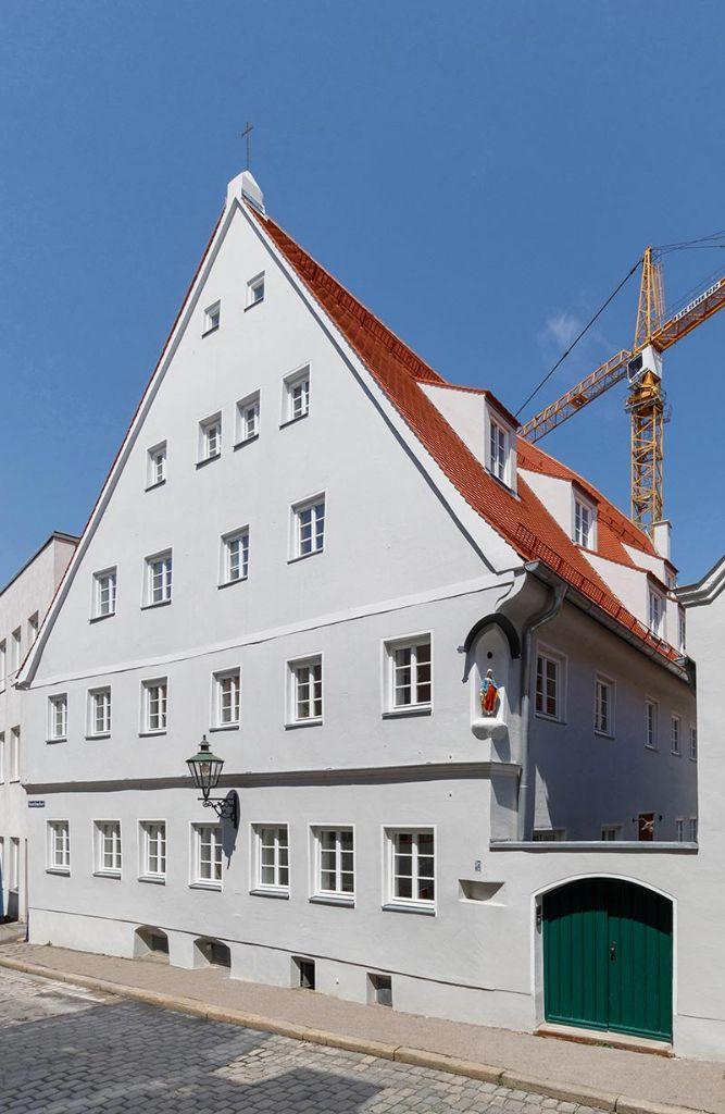 Das denkmalgeschützte Handwerker-Haus nach der zweijährigen Sanierung Ende 2018. Fotos: Christian Schneider und Lisa Steber