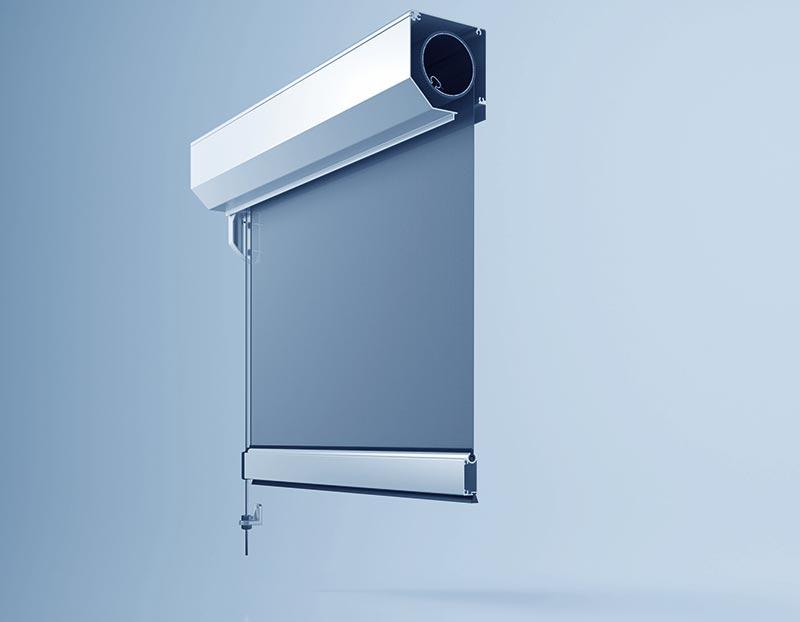Das Sonnenschutzsystem heroal VS C kommt mit einer raffinierten Seilführung daher. Foto: heroal