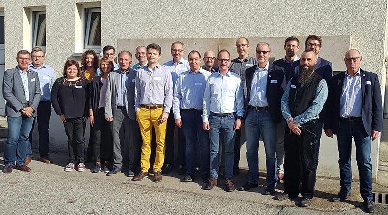 """Informations- und Meinungsaustausch: Das jüngste """"FVHF-NETworking-Treffen"""" fand im Oktober 2019 bei Lithodecor in Netzschkau statt. Foto: Lithodecor"""