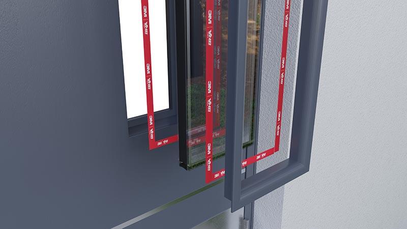 3M VHB Klebebänder fügen verschiedene Materialen wie Glas, Metalle oder Kunststoffe. Foto: 3M