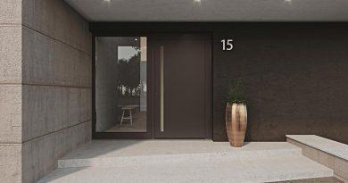 Die heroal Les Couleurs Le Corbusier Haustür vereint beste Materialien, höchste Funktionalität und maximale Flexibilität. Bild: heroal