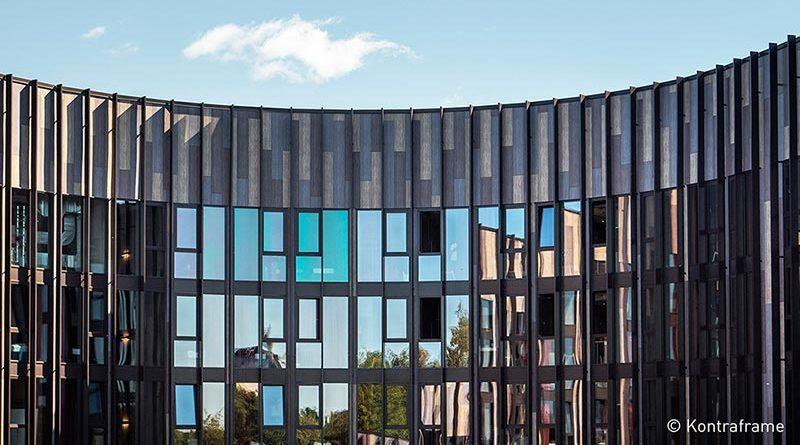 Fassade des BaseCamp Lyngby