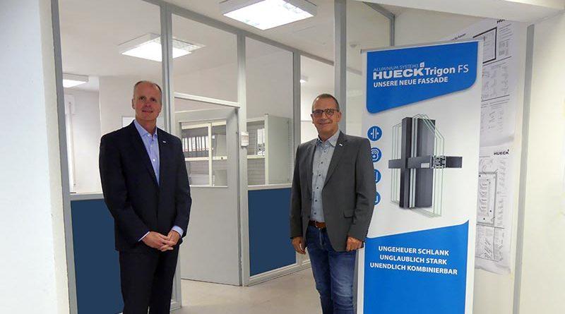 Thomas Polonyi, Geschäftsführer der HUECK Gruppe (l.) und Bernd Durner, HUECK Vertriebsleiter National (r.). Quelle: HUECK