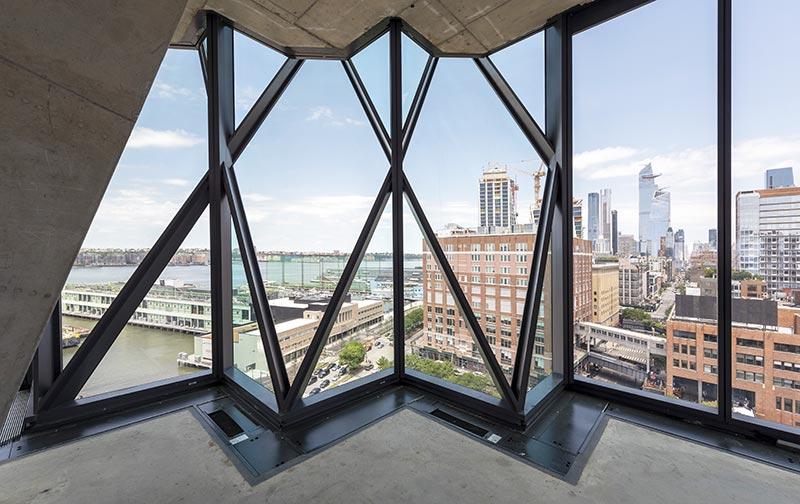 Ausblick aus einem Büroraum. Foto: Timothy Schenck / Focchi