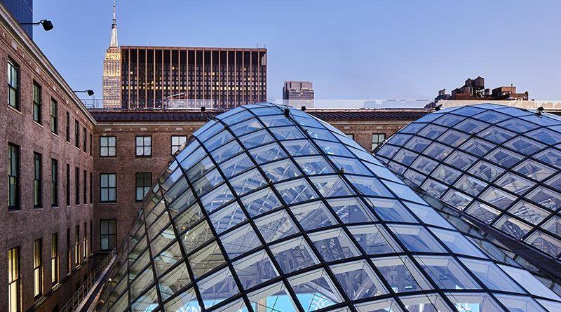 seele war auch für die insgesamt ca. 5.000 qm großen Dachkonstruktionen der Moynihan Train Hall in New York verantwortlich, die am 1. Januar 2021 für die Öffentlichkeit zugänglich gemacht wurde. Foto: Lucas Blair Simpson. Bildrechte: SOM