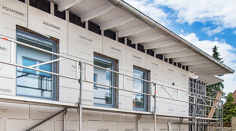 Das gemeinsam von Hilti und Knauf entwickelte VHF-System Aeroskin erfüllt höchste Anforderungen an Stabilität, Energieeffizienz, Gestaltungsvielfalt und Montagefreundlichkeit. Foto: Knauf/E. Reinsch